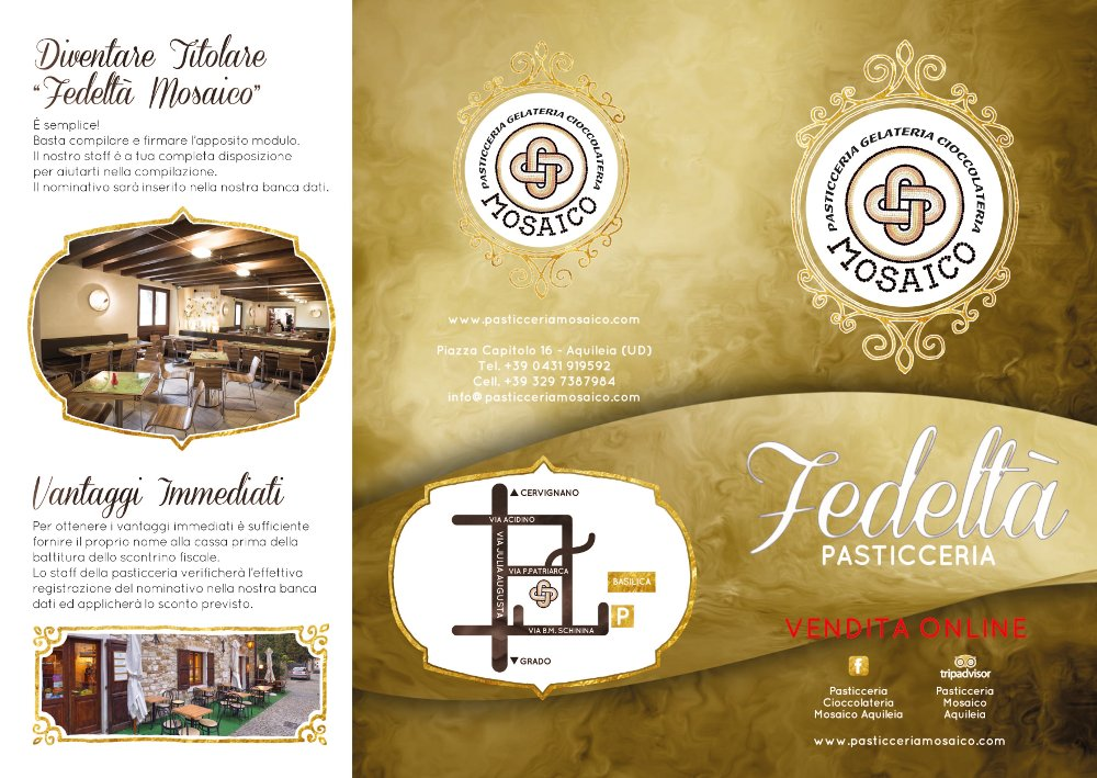 Fidelity Newsletter | Pasticceria Mosaico