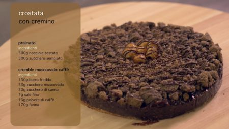 Crostata con Cremino | pasticceria Mosaico