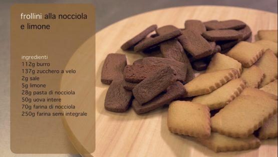 Frollini alla Nocciola e Biscotti al Limone | Pasticceria Mosaico