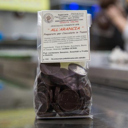 Bottoncini all'Arancia - Cioccolato Fondente 65%