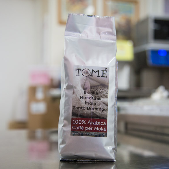 Caffè Tomè Moka Arabica   Pasticceria Mosaico