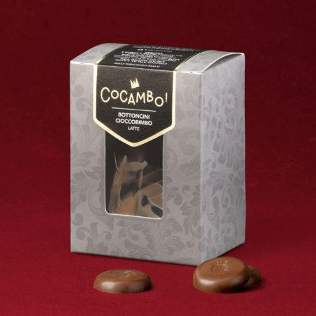 Bottoncini Cocambo Cioccobimbo Latte
