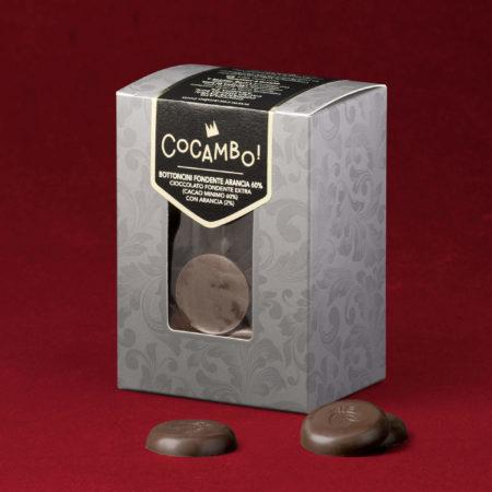 Bottoncini Cocambo Arancia Fondente 60%