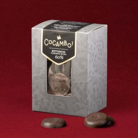 Bottoncini Cocambo Fondente Extra 60%