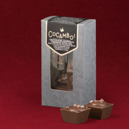 Cioccolatini Cocambo Asperum IV Fondente Extra 60%
