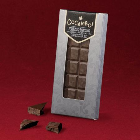 Tavoletta Cocambo Cannella Fondente Extra 60%