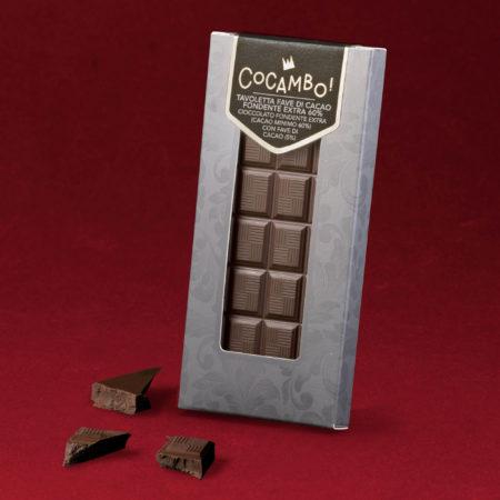 Tavoletta Cocambo Fave di Cacao Fondente Extra 60%