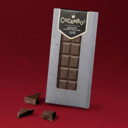 Tavoletta Cocambo Fondente Extra Perù 72%