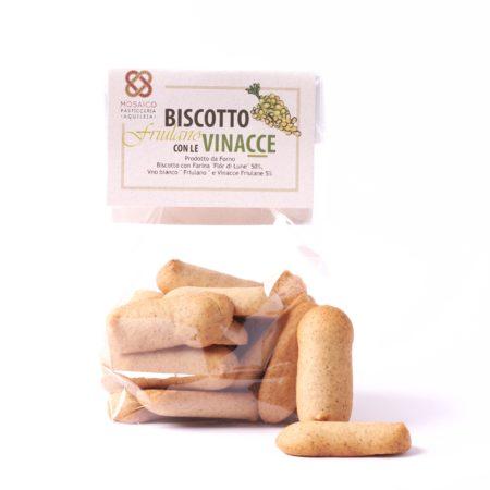 Biscotto Friulano con Vinacce e Vino Bianco